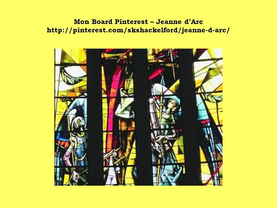 Mon Board Pinterest – Jeanne d'Arc http://pinterest