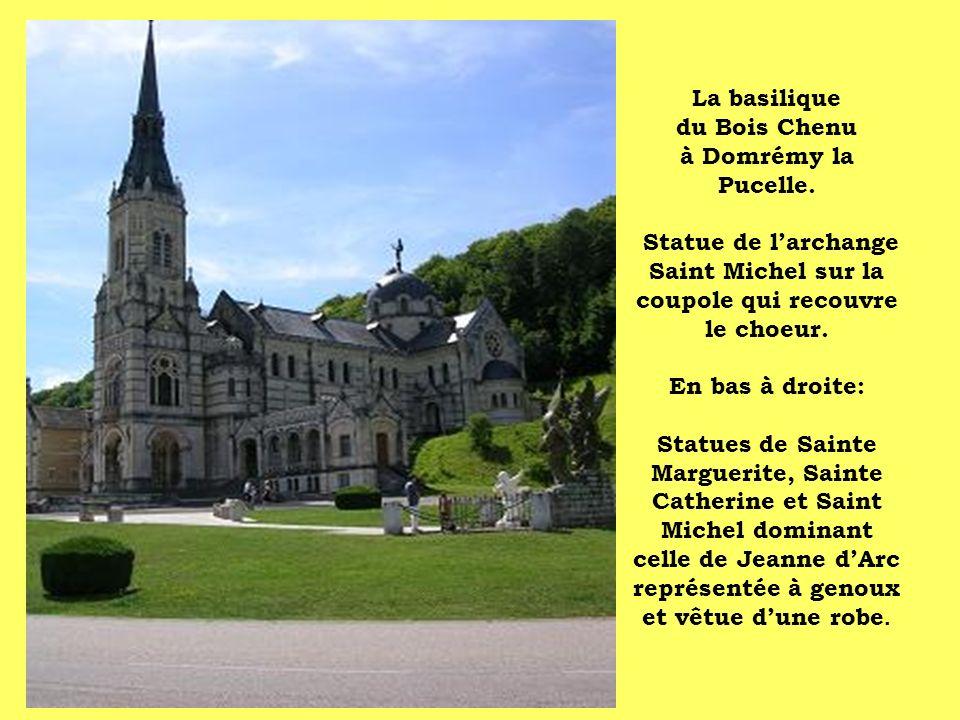 La basilique du Bois Chenu à Domrémy la Pucelle