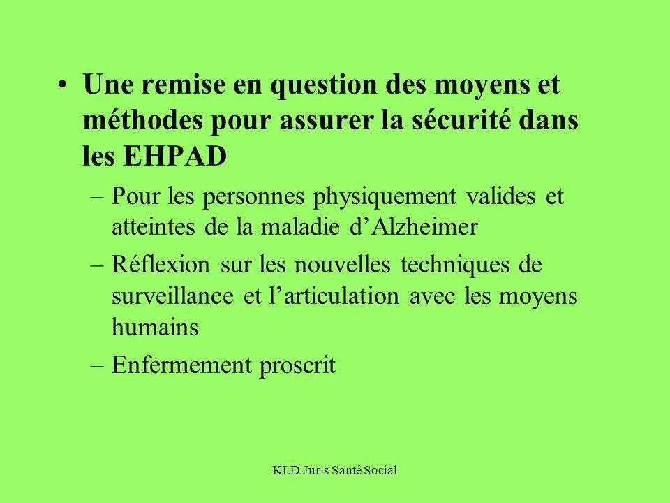 Une remise en question des moyens et méthodes pour assurer la sécurité dans les EHPAD