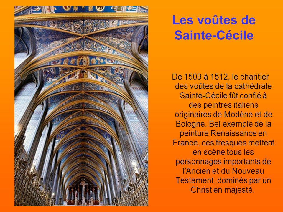 Les voûtes de Sainte-Cécile