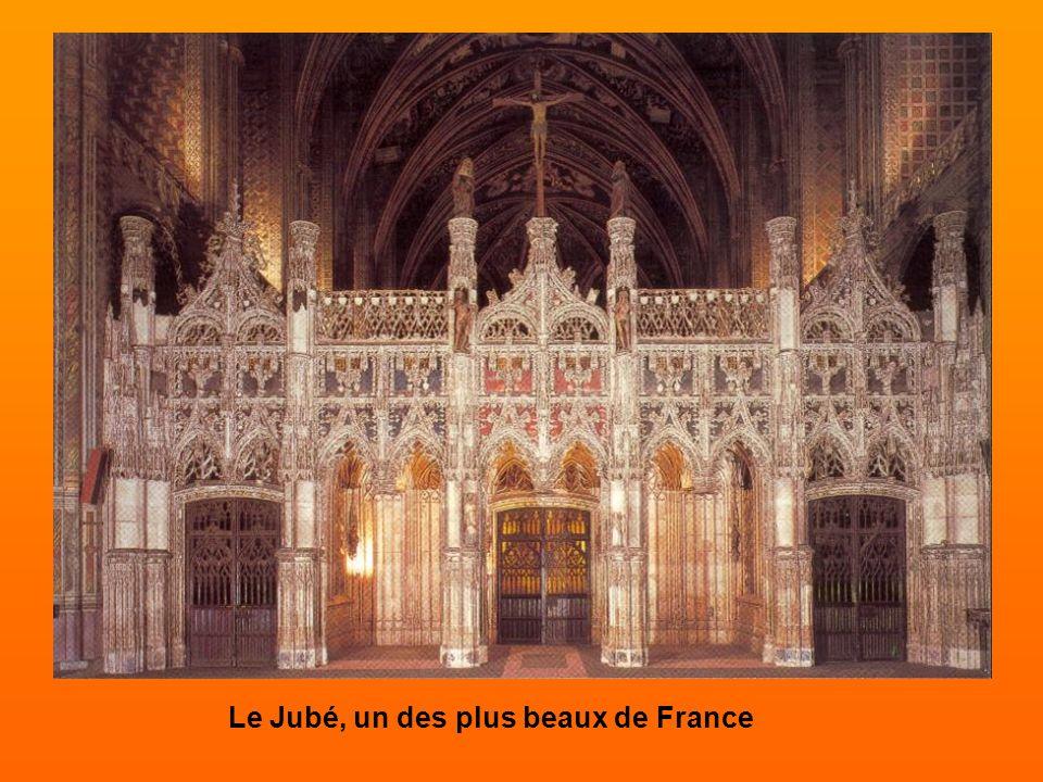 Le Jubé, un des plus beaux de France