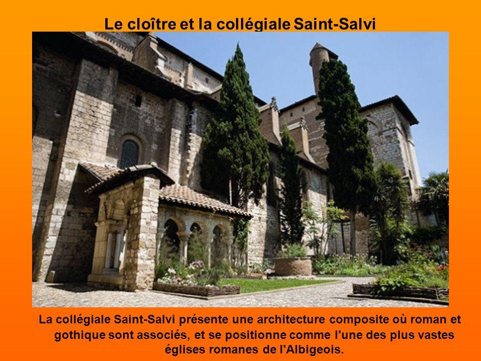 Le cloître et la collégiale Saint-Salvi