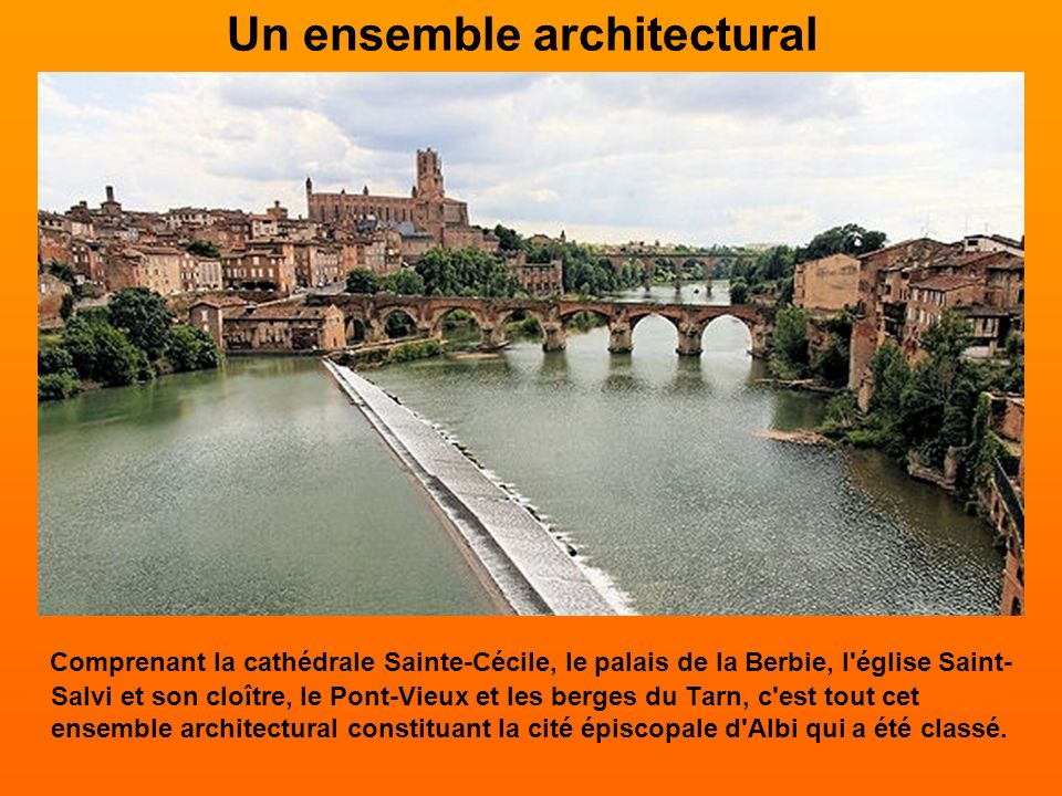 Un ensemble architectural