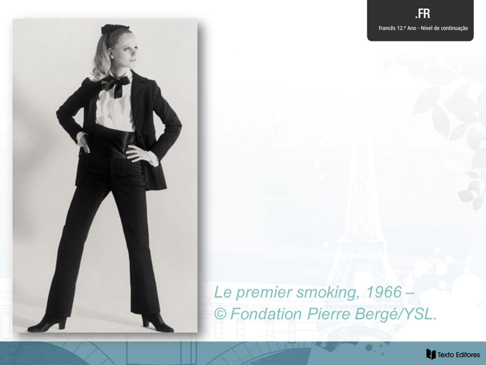 Le premier smoking, 1966 – © Fondation Pierre Bergé/YSL.