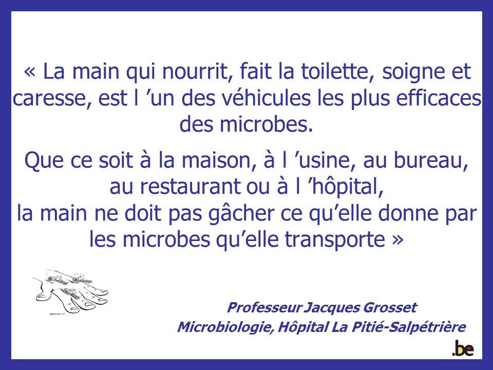 Professeur Jacques Grosset Microbiologie, Hôpital La Pitié-Salpétrière