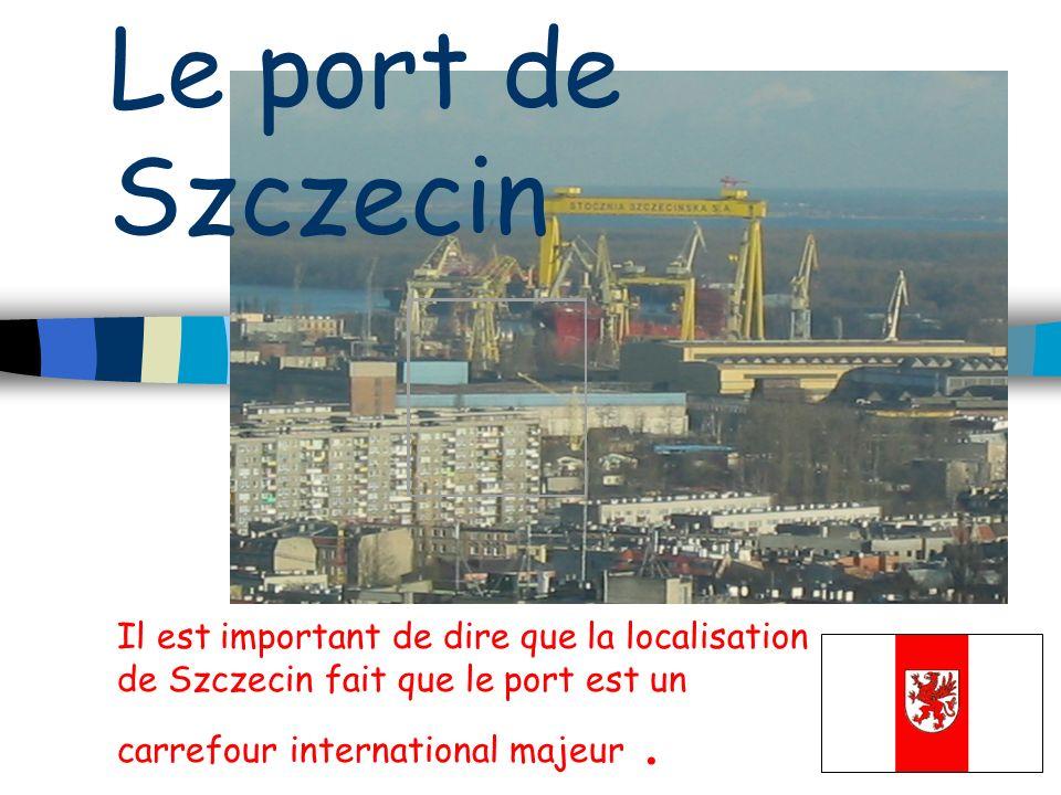 Le port de Szczecin