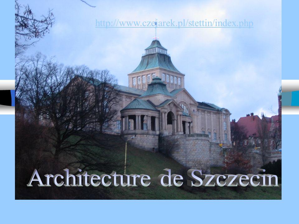 Architecture de Szczecin