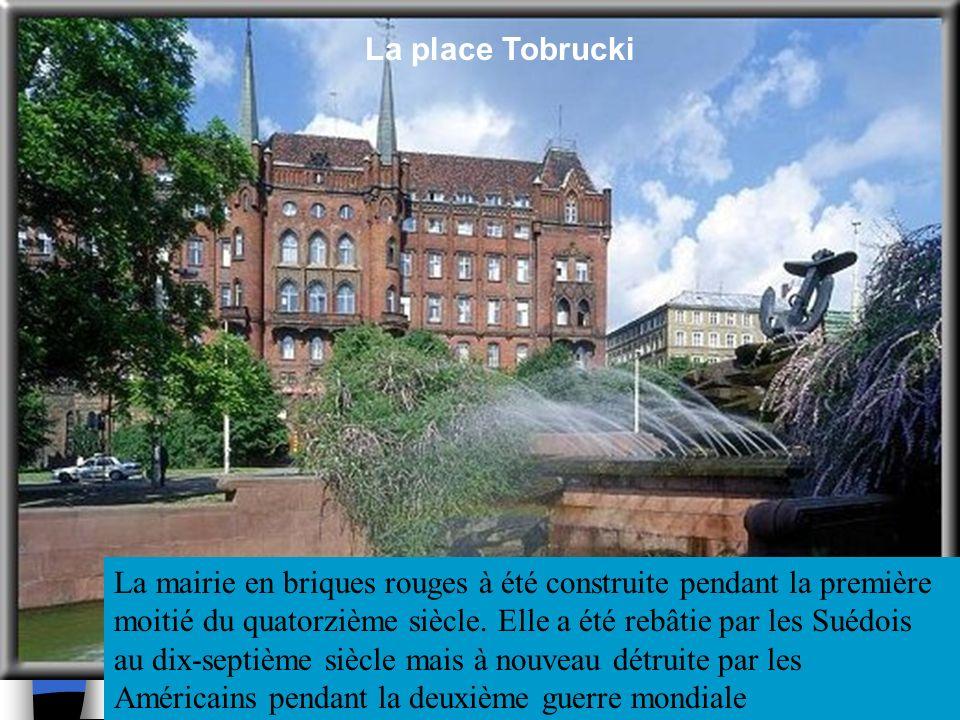 La place Tobrucki