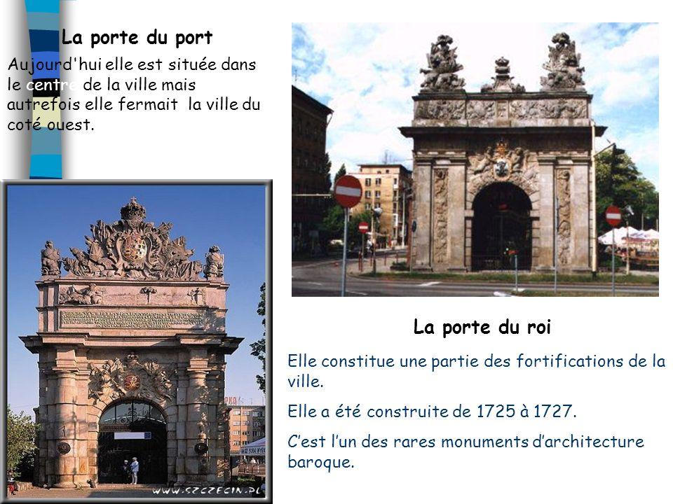 La porte du port La porte du roi