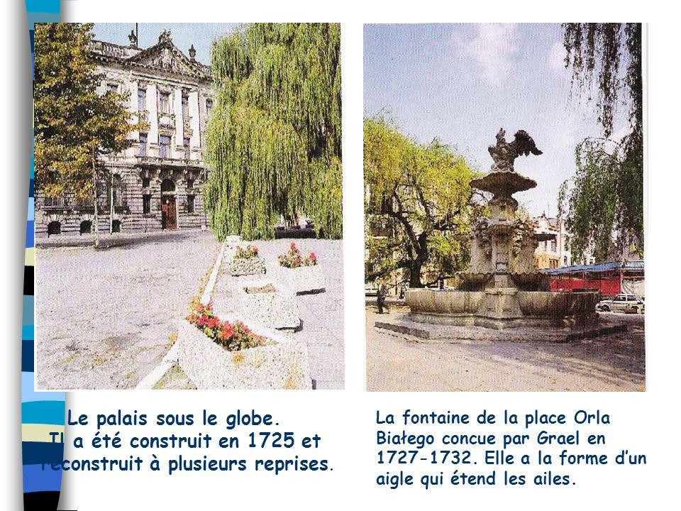 Il a été construit en 1725 et reconstruit à plusieurs reprises.