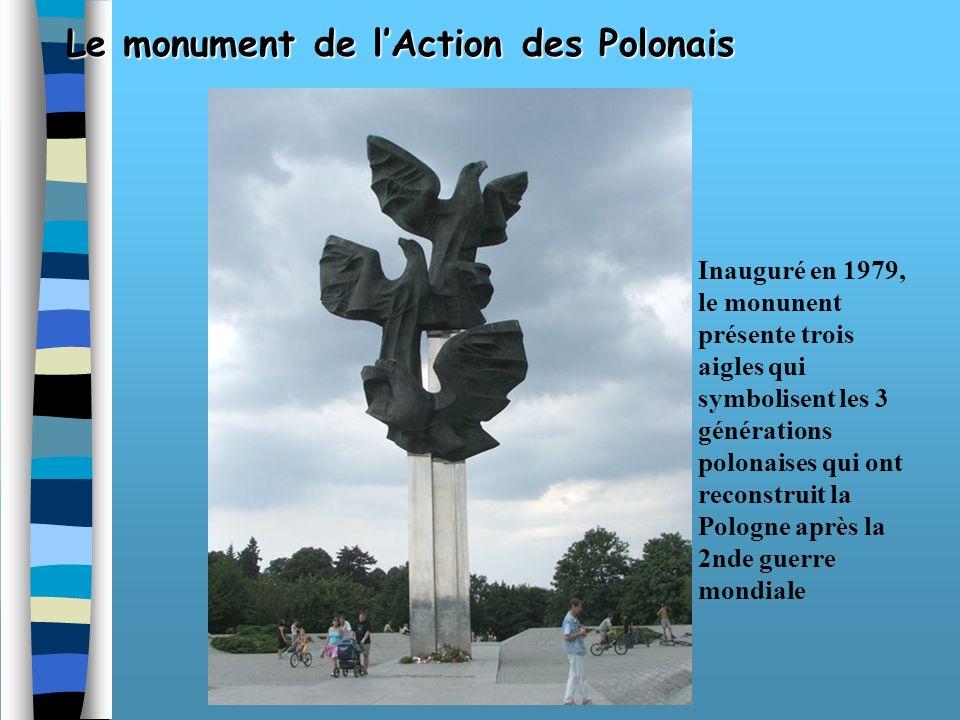 Le monument de l'Action des Polonais