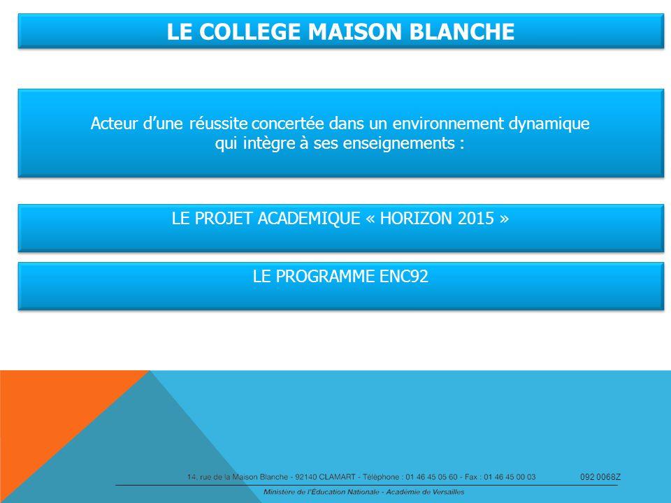 LE COLLEGE MAISON BLANCHE