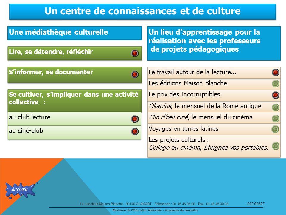 Un centre de connaissances et de culture