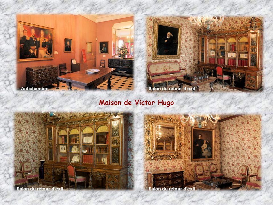 Maison de Victor Hugo Antichambre Salon du retour d'exil
