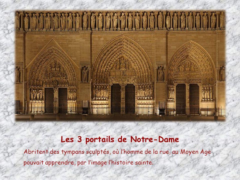 Les 3 portails de Notre-Dame