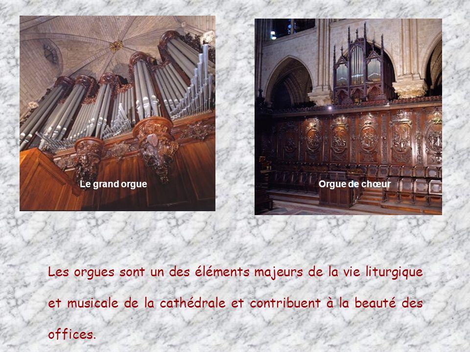 Le grand orgue Orgue de chœur.