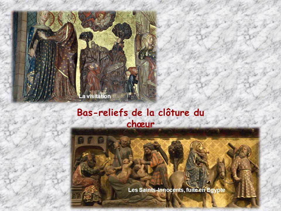 Bas-reliefs de la clôture du chœur
