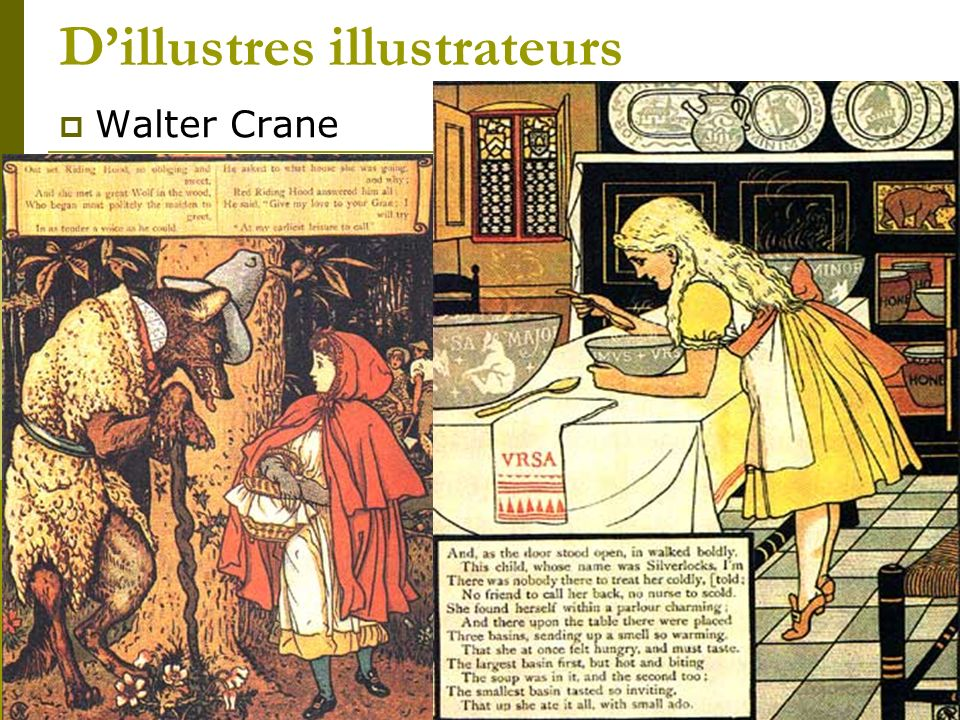 D'illustres illustrateurs
