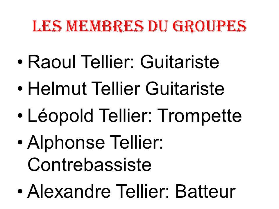 Raoul Tellier: Guitariste Helmut Tellier Guitariste