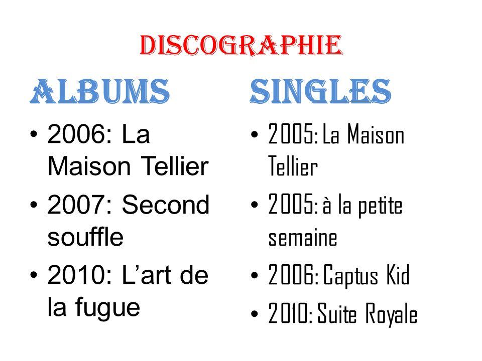 Albums Singles Discographie 2006: La Maison Tellier