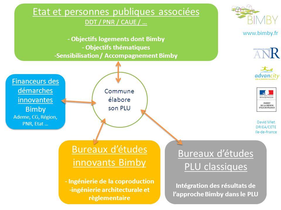Etat et personnes publiques associées