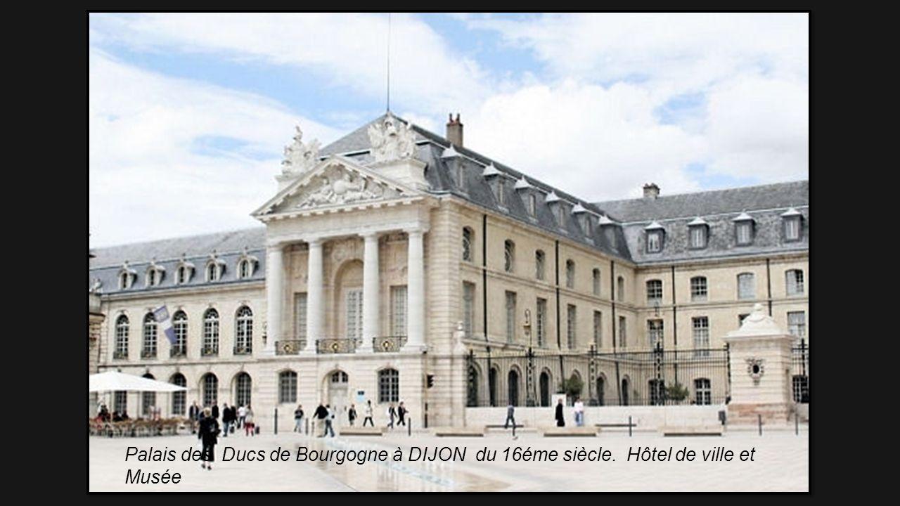 Palais des Ducs de Bourgogne à DIJON du 16éme siècle