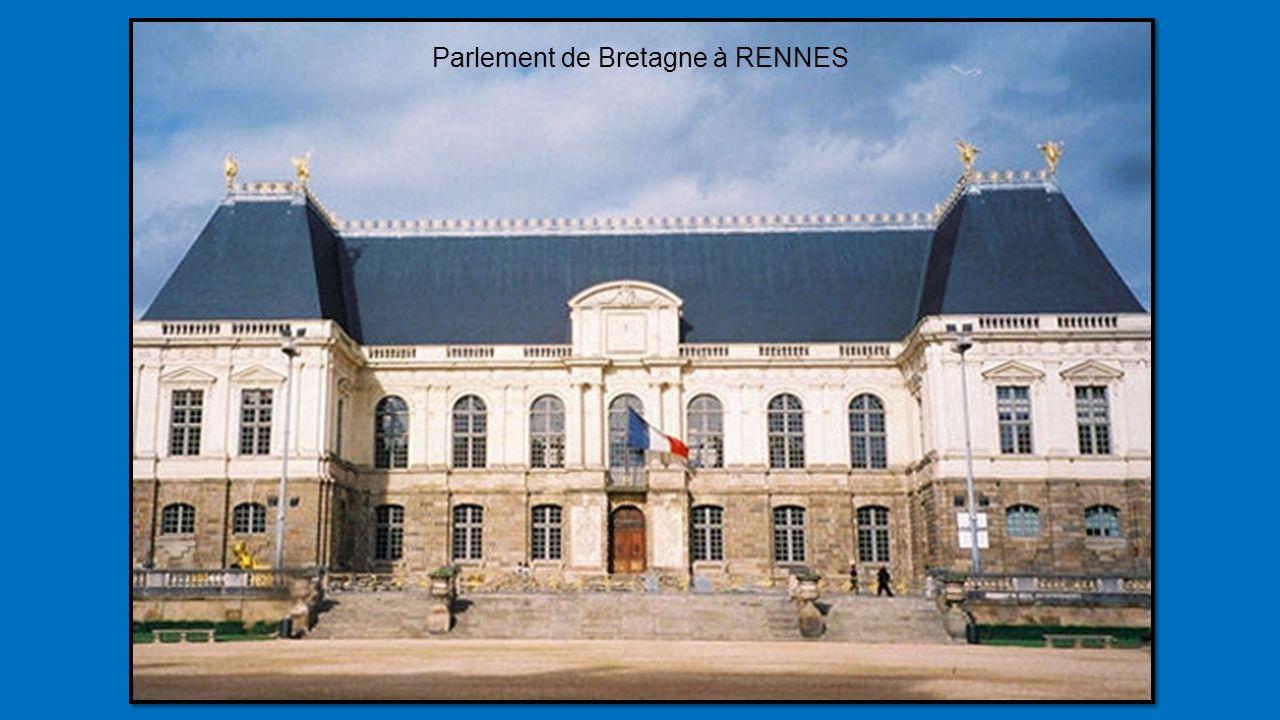 Parlement de Bretagne à RENNES