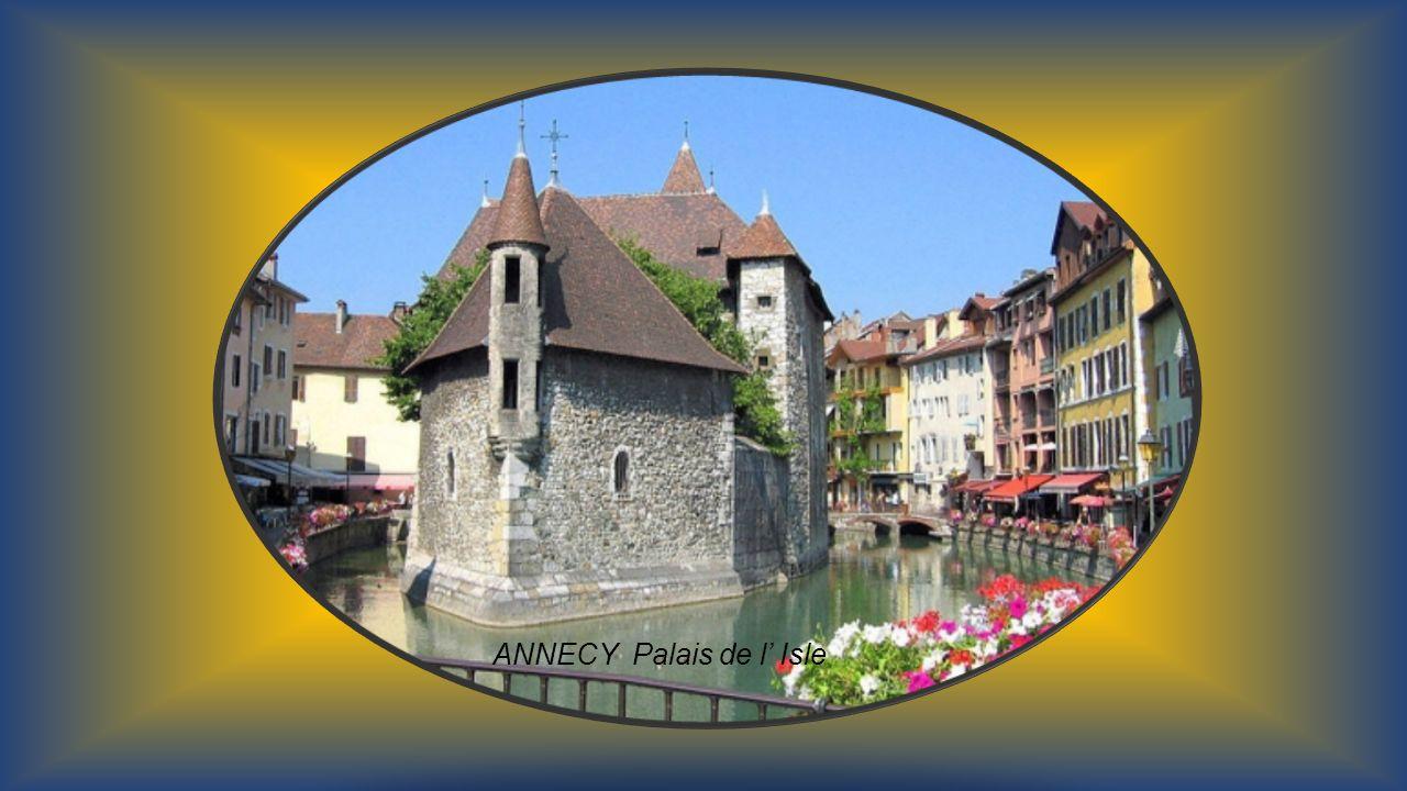 ANNECY Palais de l' Isle