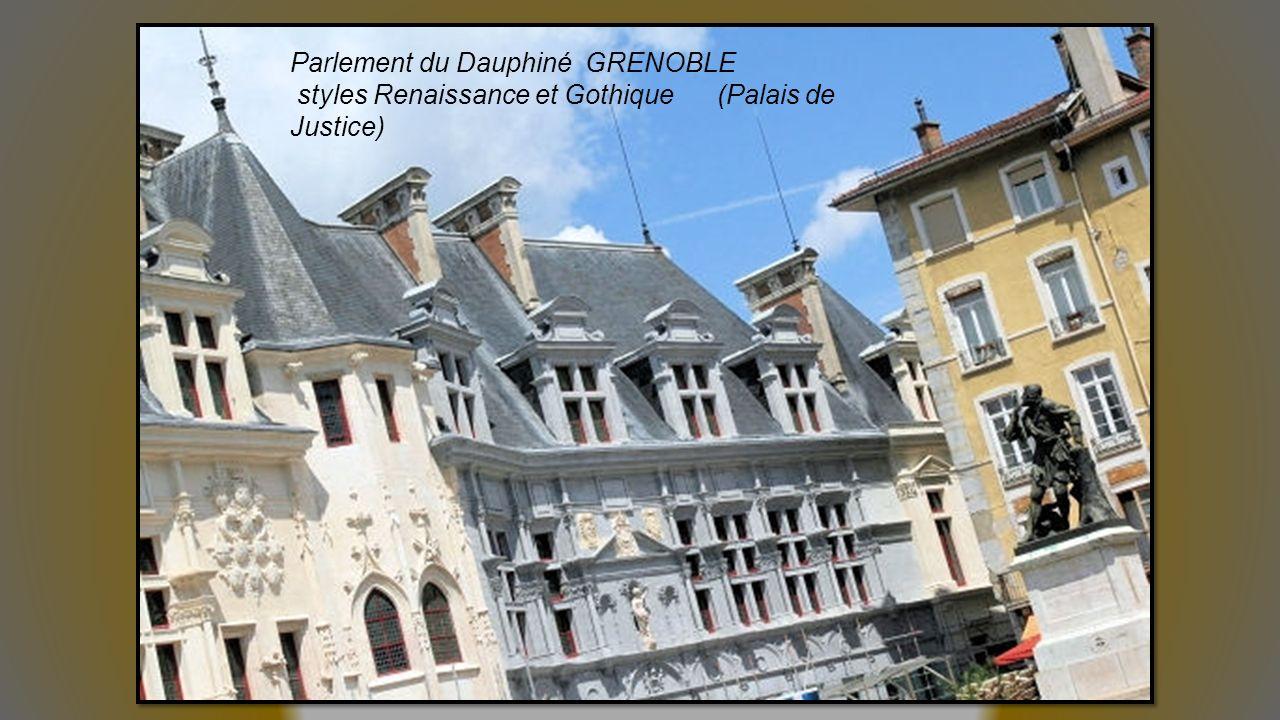 Parlement du Dauphiné GRENOBLE