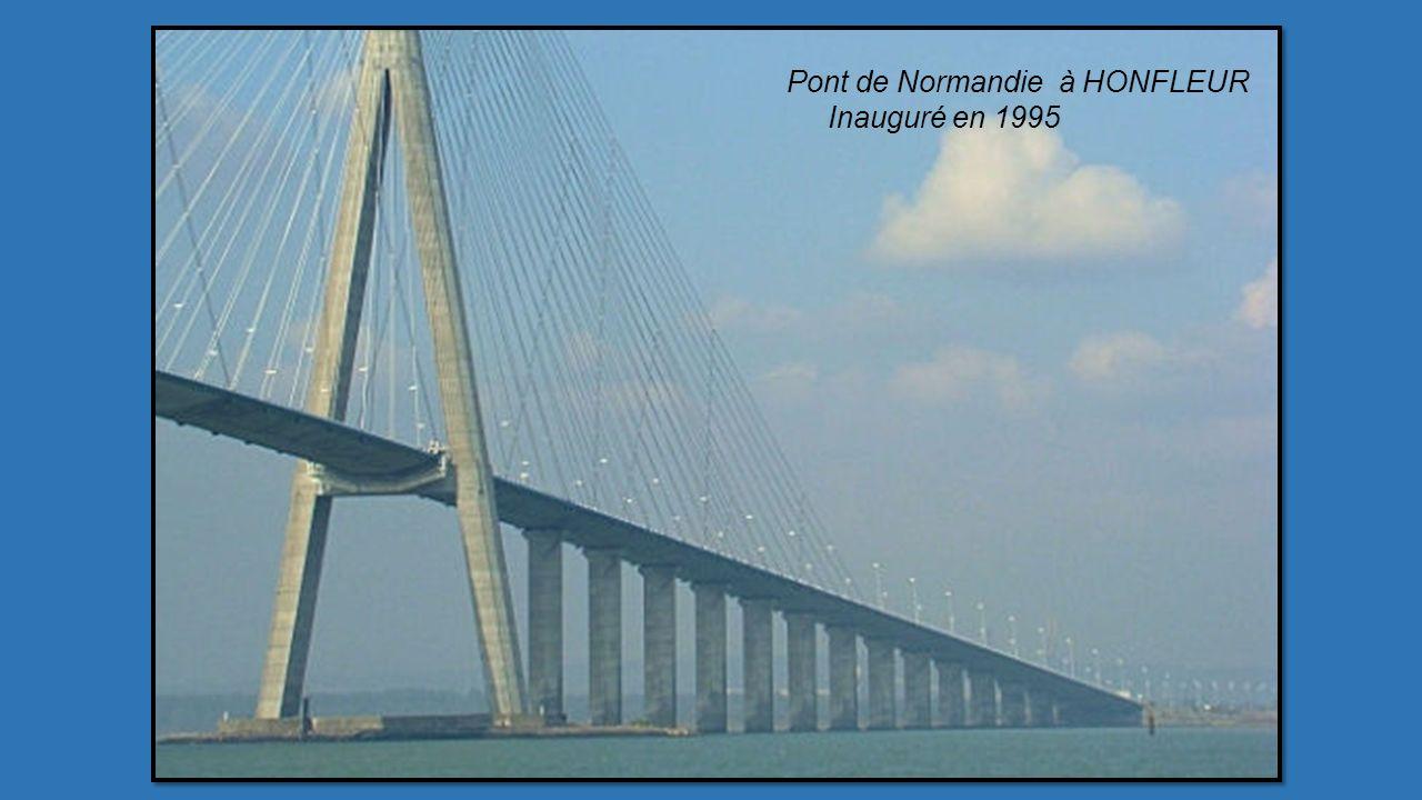 Pont de Normandie à HONFLEUR