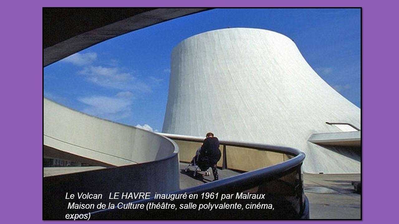 Le Volcan LE HAVRE inauguré en 1961 par Malraux