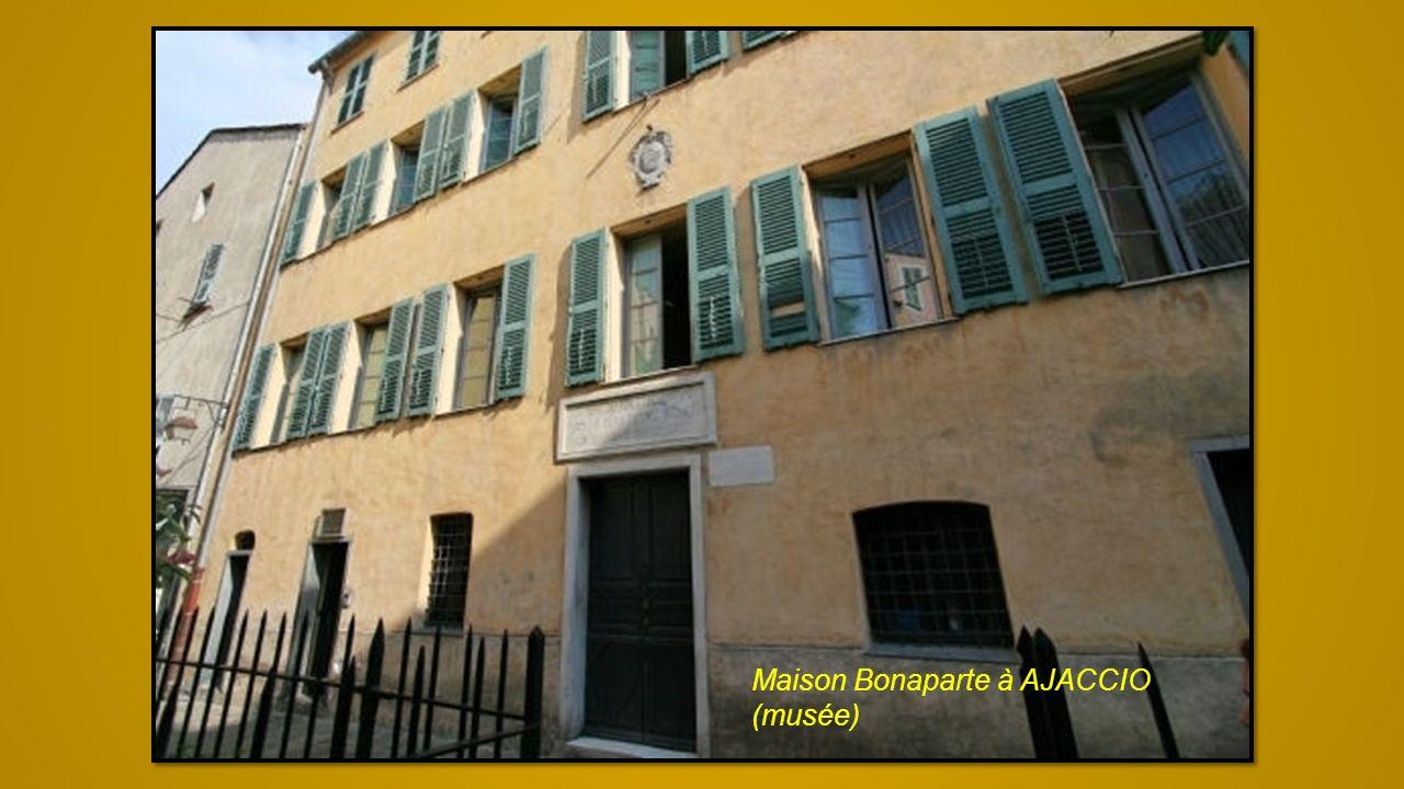 Maison Bonaparte à AJACCIO (musée)
