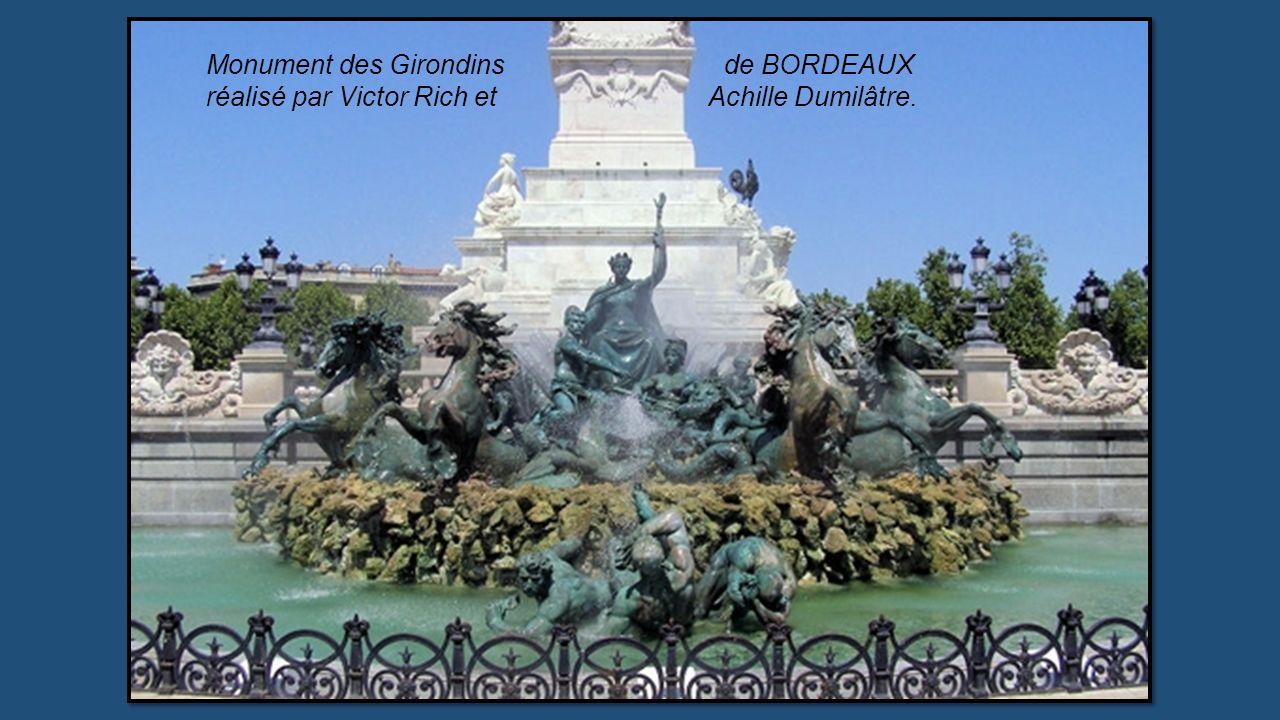 Monument des Girondins de BORDEAUX