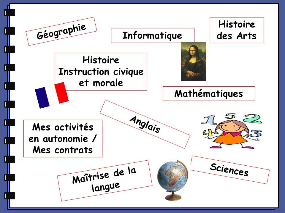 Histoire Instruction civique et morale