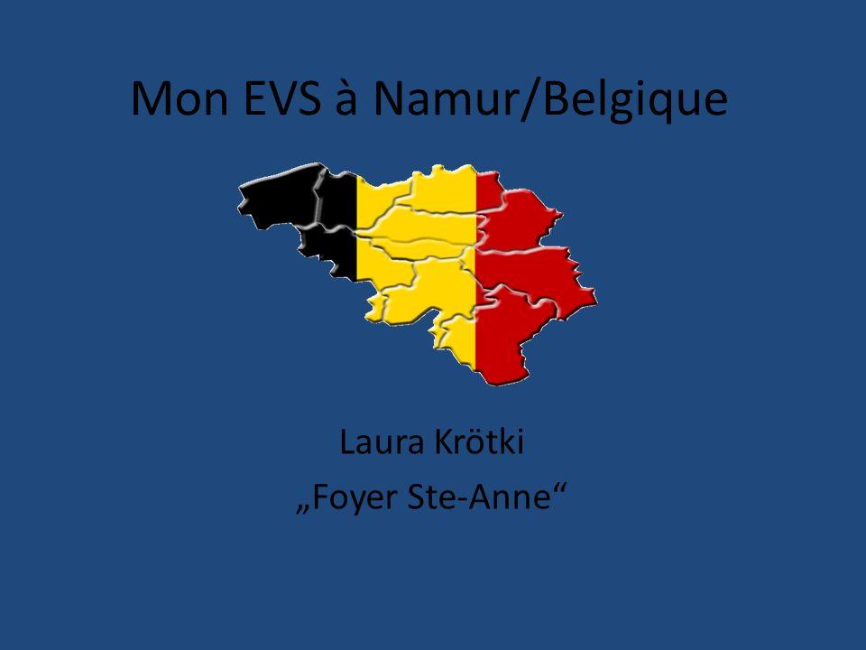 Mon EVS à Namur/Belgique