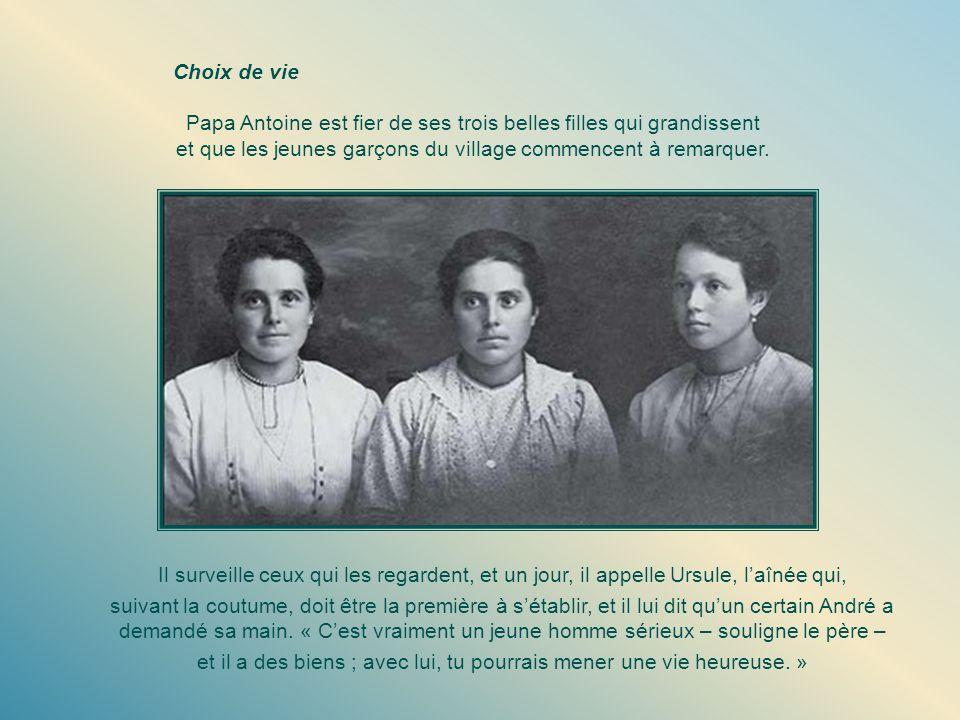 Papa Antoine est fier de ses trois belles filles qui grandissent