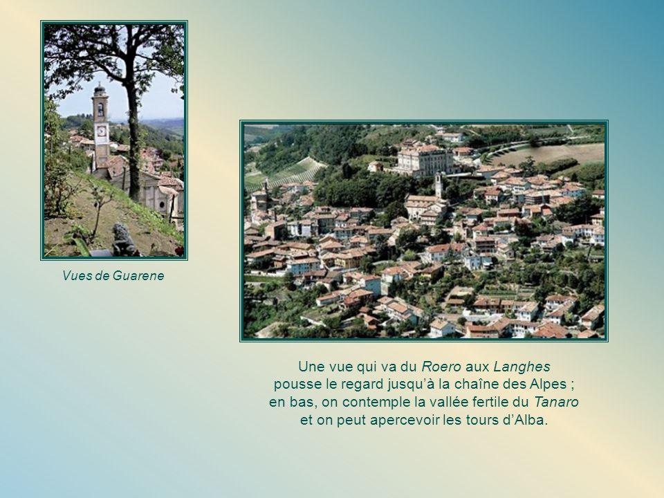 Une vue qui va du Roero aux Langhes