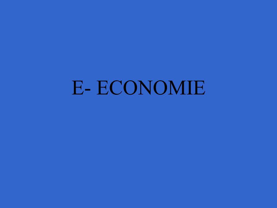 E- ECONOMIE
