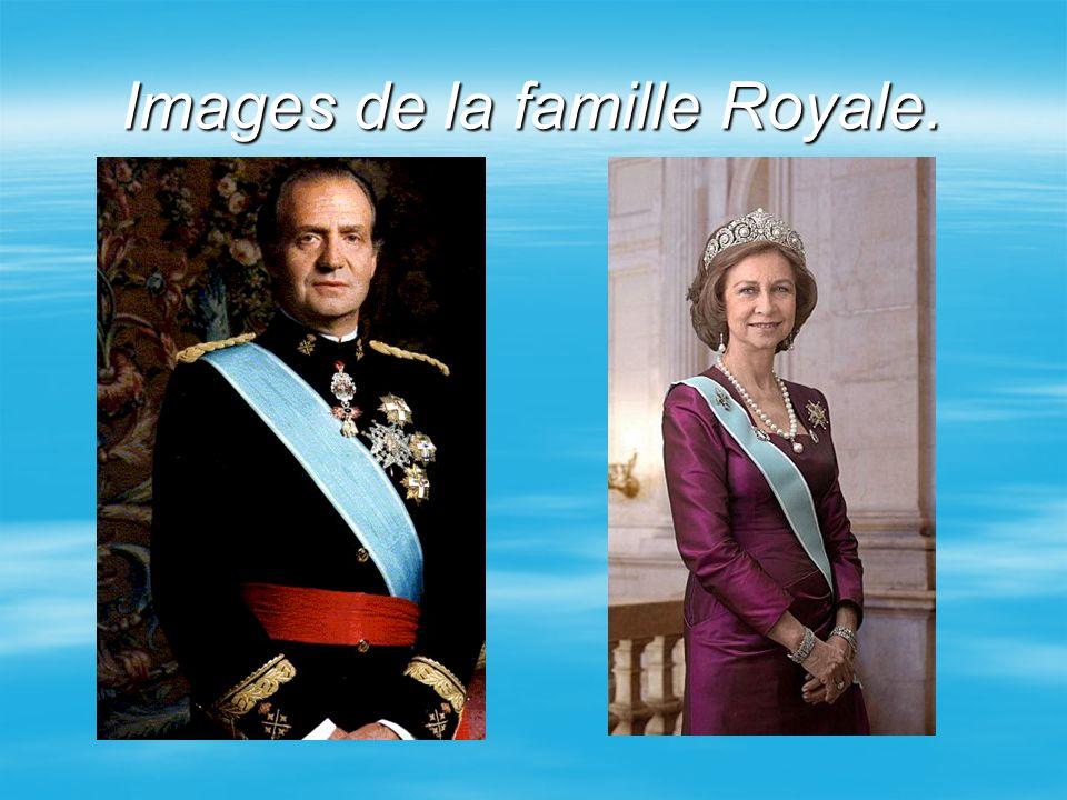 Images de la famille Royale.