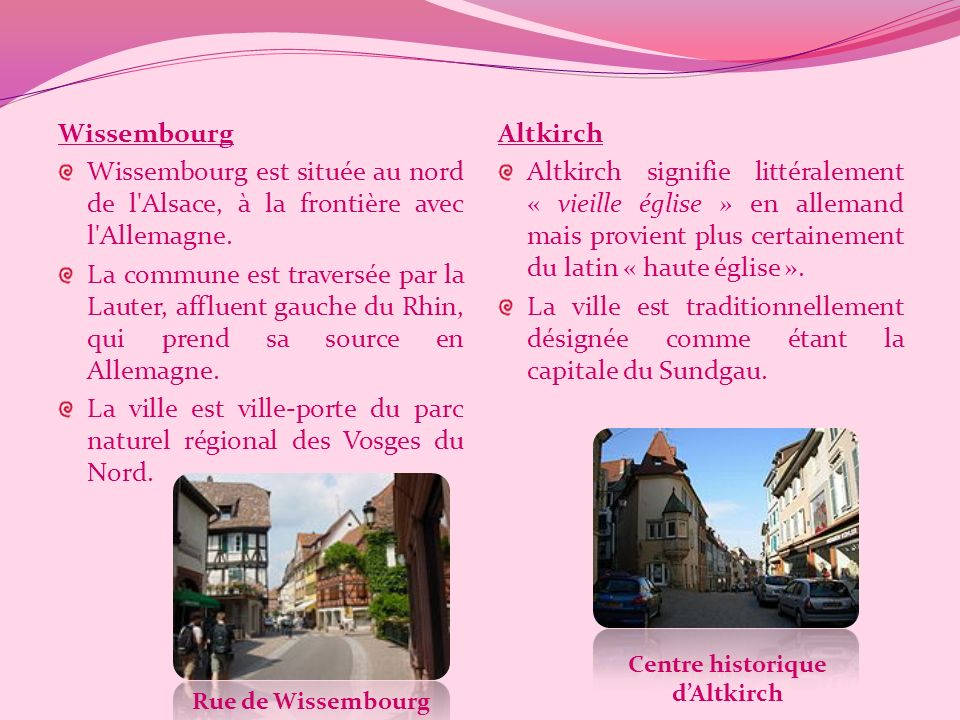 Centre historique d'Altkirch