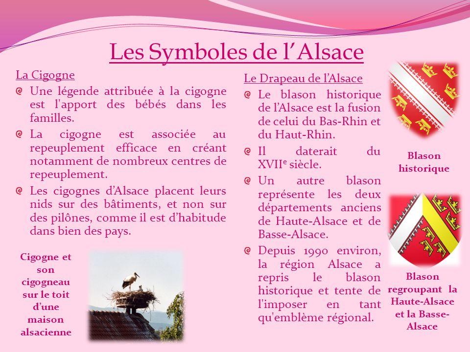 Les Symboles de l'Alsace