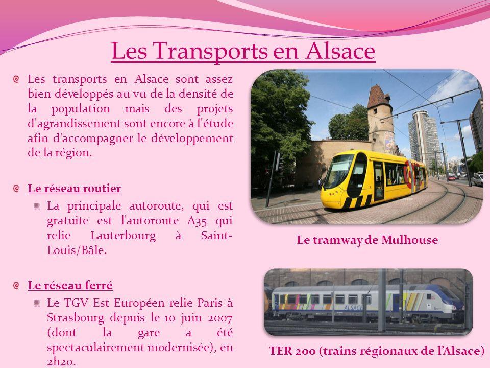 Les Transports en Alsace