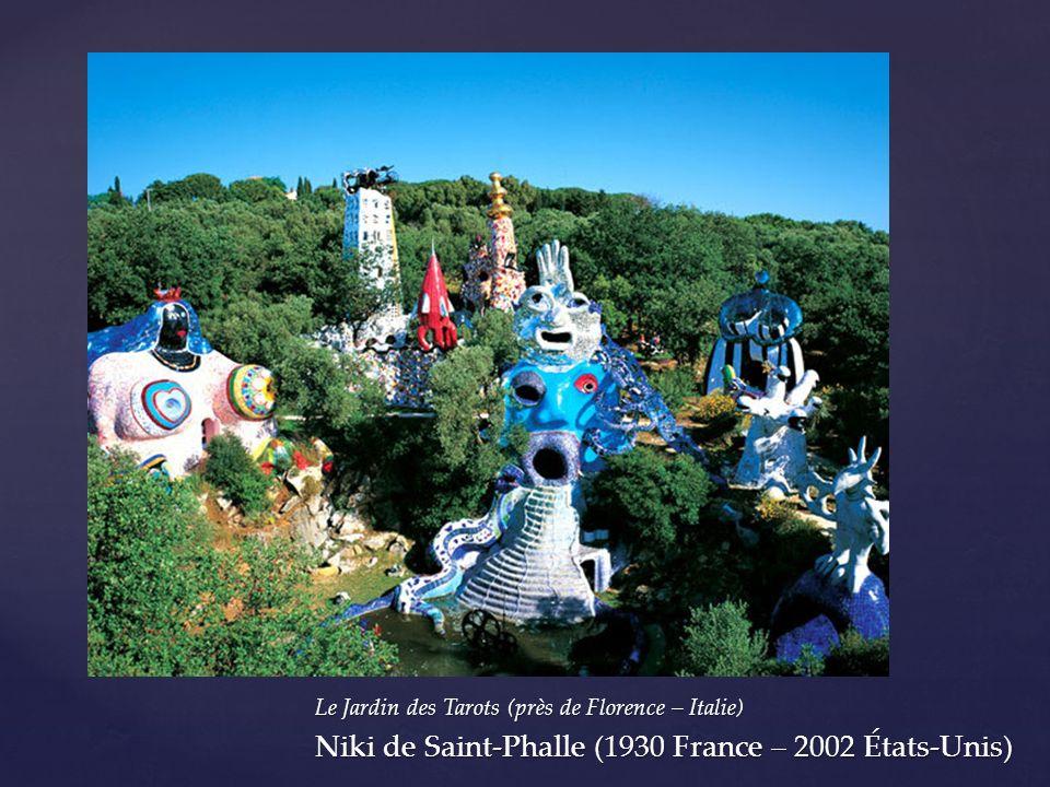 Niki de Saint-Phalle (1930 France – 2002 États-Unis)