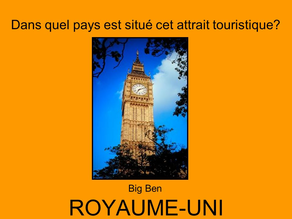 Big Ben ROYAUME-UNI