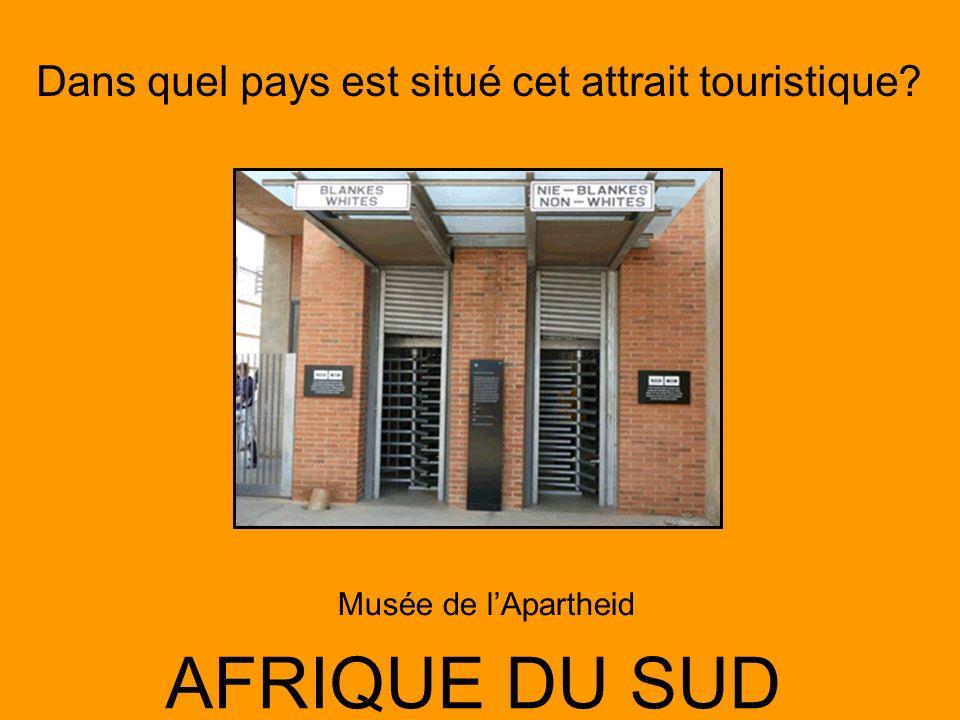 Musée de l'Apartheid AFRIQUE DU SUD
