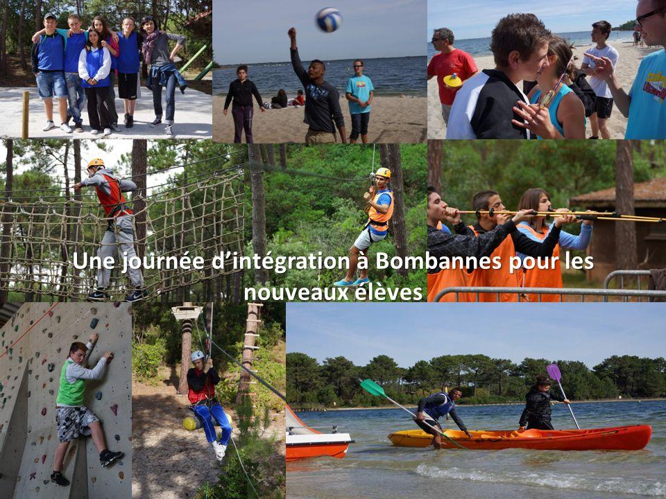 Une journée d'intégration à Bombannes pour les nouveaux élèves
