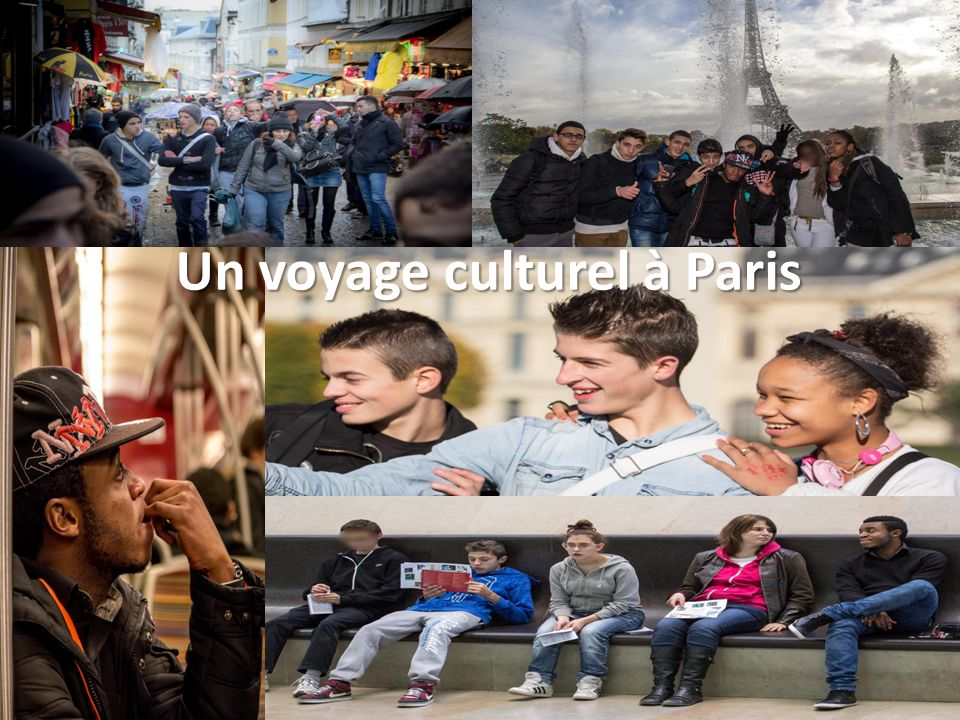 Un voyage culturel à Paris