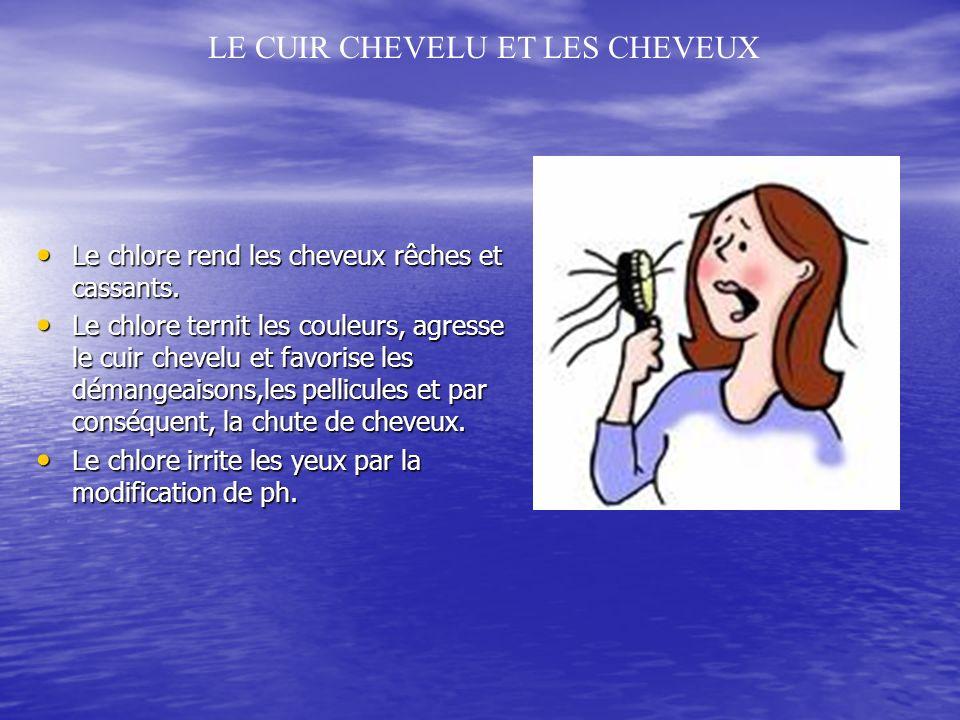 LE CUIR CHEVELU ET LES CHEVEUX