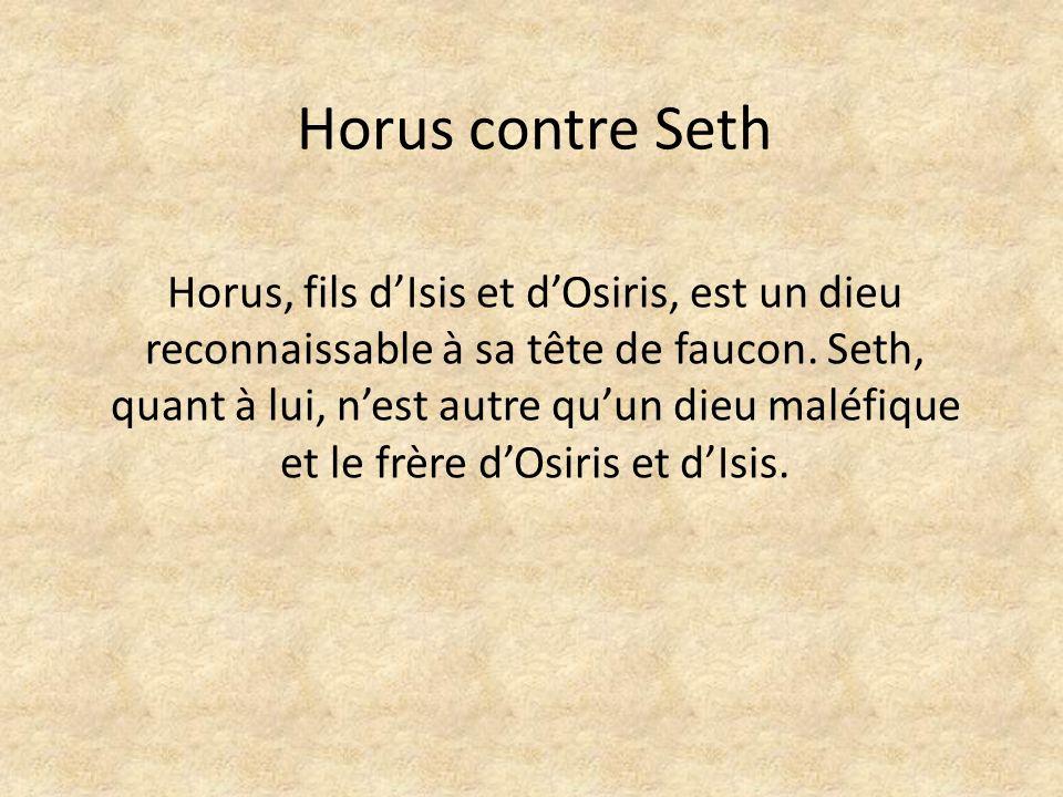 Horus contre Seth
