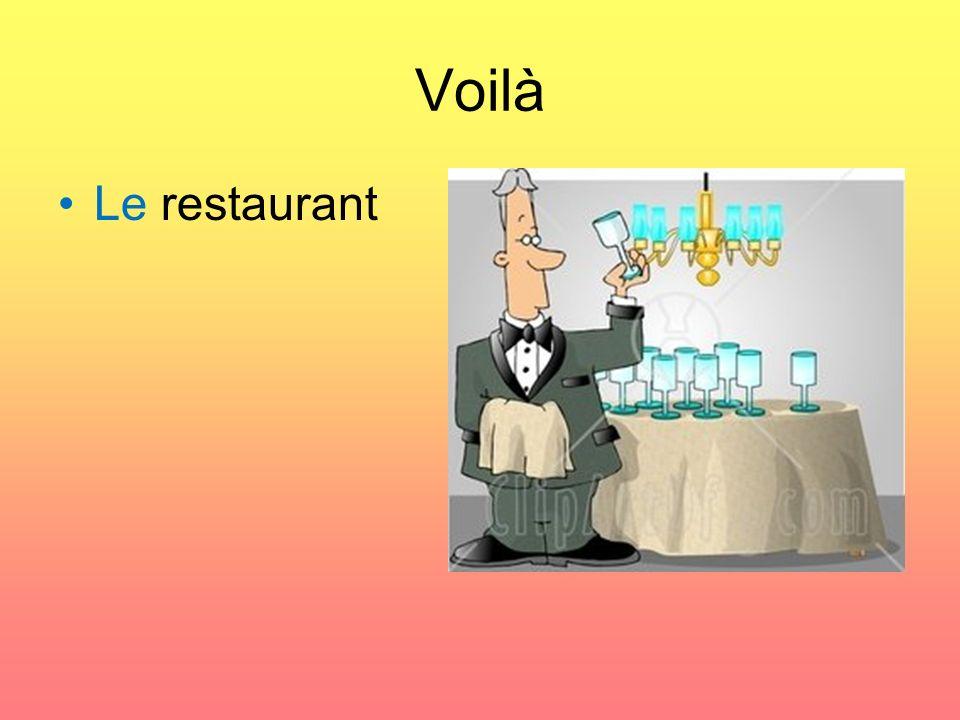 Voilà Le restaurant